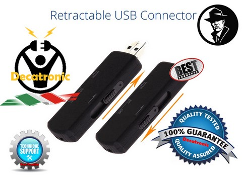 USB Flash Drive With Professional VOX Voice Recorder